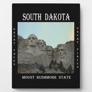 South Dakota Mount Rushmore State Plaque