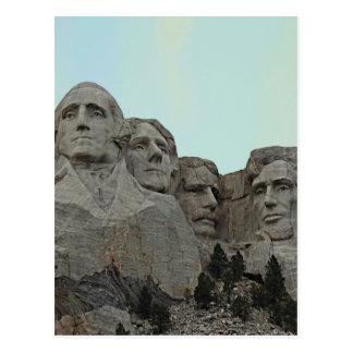 South Dakota Mount Rushmore State Postcard