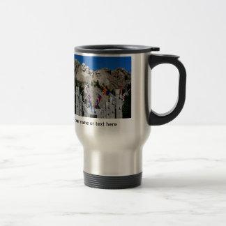 South Dakota Mount Rushmore Travel Mug