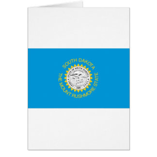 South Dakota  Official State Flag Card