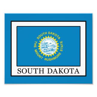 South Dakota Photo Print