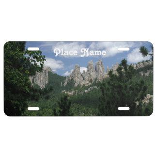 South Dakota Photography License Plate
