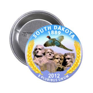 South Dakota Pinback Button
