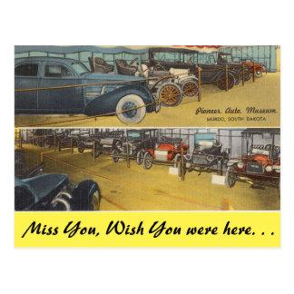 South Dakota, Pioneer Auto Museum, Murdo Postcard