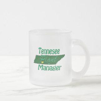 South Dakota Plant Manager Frosted Glass Coffee Mug