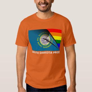 South Dakota Pride LGBT Rainbow Flag Shirt