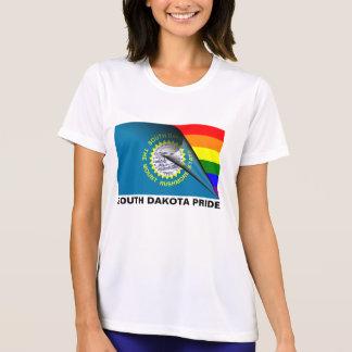 South Dakota Pride LGBT Rainbow Flag Tee Shirt