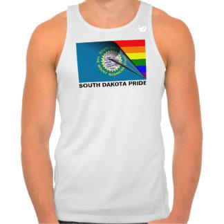 South Dakota Pride LGBT Rainbow Flag Tee Shirts
