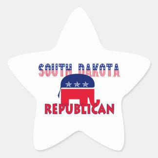 South Dakota Republican Star Sticker