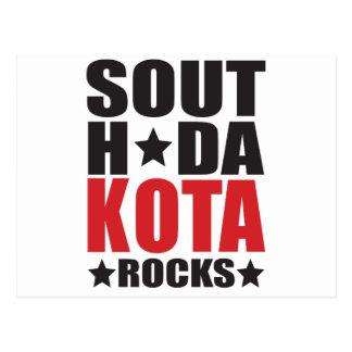 South Dakota Rocks! State Spirit Gifts and Apparel Postcard