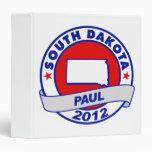 South Dakota Ron Paul 3 Ring Binders