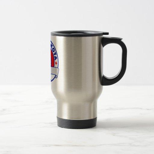 South Dakota Ron Paul 15 Oz Stainless Steel Travel Mug