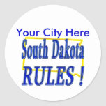 South Dakota Rules ! Sticker