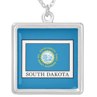 South Dakota Silver Plated Necklace