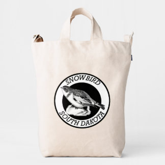 South Dakota Snowbird Shield Duck Bag