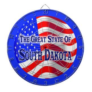 South Dakota State Dartboard