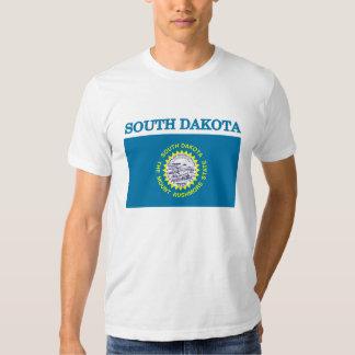 South Dakota State Flag American Apparel T-shirt