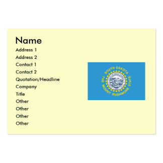 South Dakota State Flag Large Business Cards (Pack Of 100)