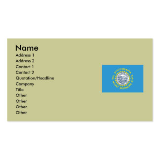 South Dakota State Flag Double-Sided Standard Business Cards (Pack Of 100)