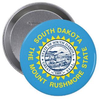 South Dakota State Flag Button