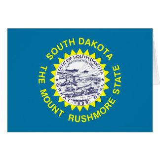 South Dakota State Flag Greeting Cards