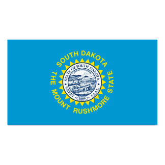 South Dakota State Flag Design Double-Sided Standard Business Cards (Pack Of 100)