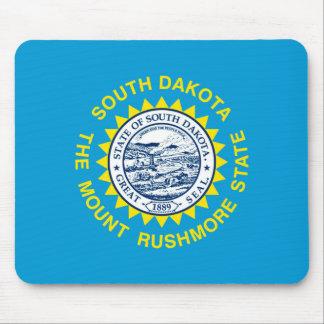 South Dakota State Flag Design Mouse Pad