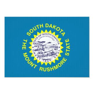 South Dakota State Flag Custom Invitations
