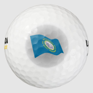 South Dakota State Flag logo Golf Balls