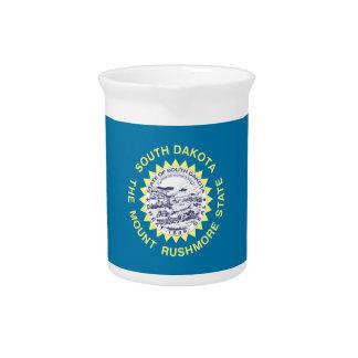 South Dakota State Flag Beverage Pitchers