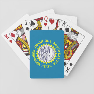 South Dakota State Flag Playing Cards