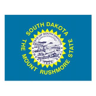 South Dakota State Flag Post Cards