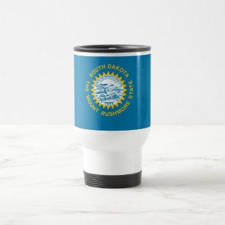 South Dakota State Flag Travel Mug