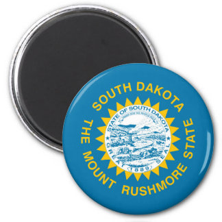 south dakota state flag united america republic sy magnet