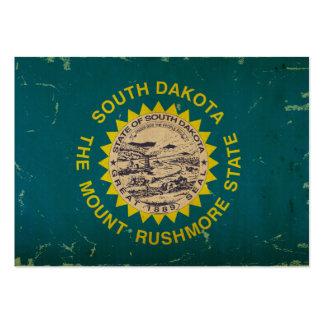 South Dakota State Flag VINTAGE Large Business Cards (Pack Of 100)