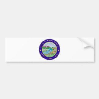 South Dakota State Seal Bumper Stickers