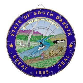 South Dakota State Seal Dart Boards