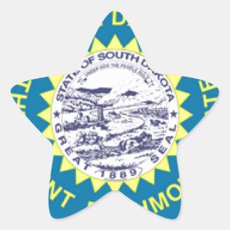 South Dakota Star Sticker