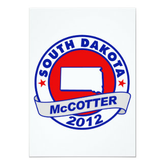 South Dakota Thad McCotter Card