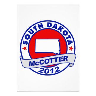 South Dakota Thad McCotter Custom Invite