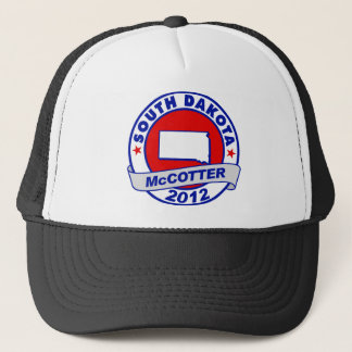 South Dakota Thad McCotter Trucker Hat
