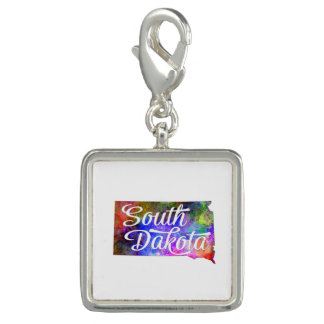 South Dakota US State in watercolor text cut out.p Dijes Con Foto