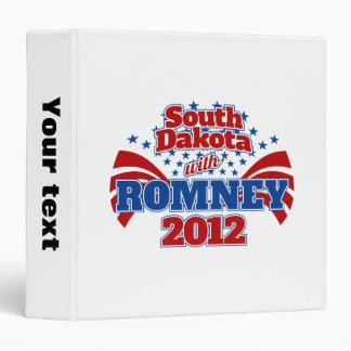 South Dakota with Romney 2012 Binder
