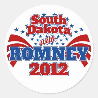 South Dakota with Romney 2012 Stickers