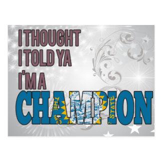 South Dakotan and a Champion Postcard