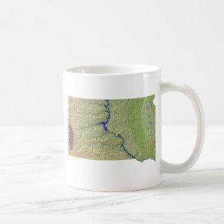 South Dakotan Flag + Map Mug