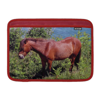 South Devon Coast Dartmoor Pony In Bracken Sleeve For MacBook Air