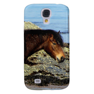 South Devon Dartmoor Pony On Remote Beach Samsung Galaxy S4 Cover