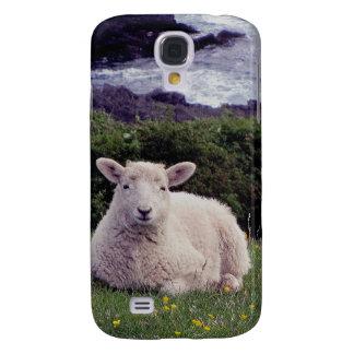 South Devon Lamb Resting On Remote Coastline Samsung S4 Case