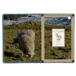 South Devon Two Sheep Grazing On Wild Coastline iPad Mini Cases